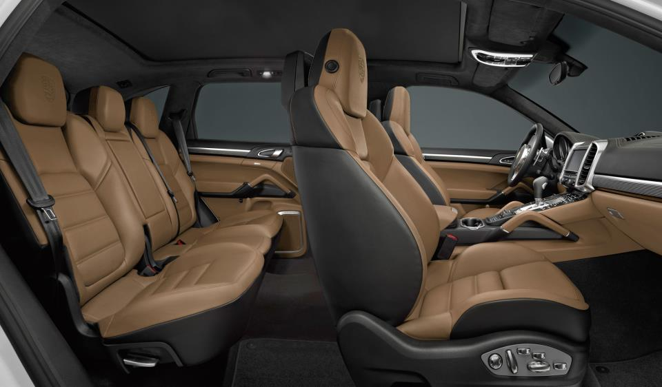 how can you not fall asleep driving in the soft leather seats of the cayenne - 2014 Porsche Cayenne Turbo S Interior