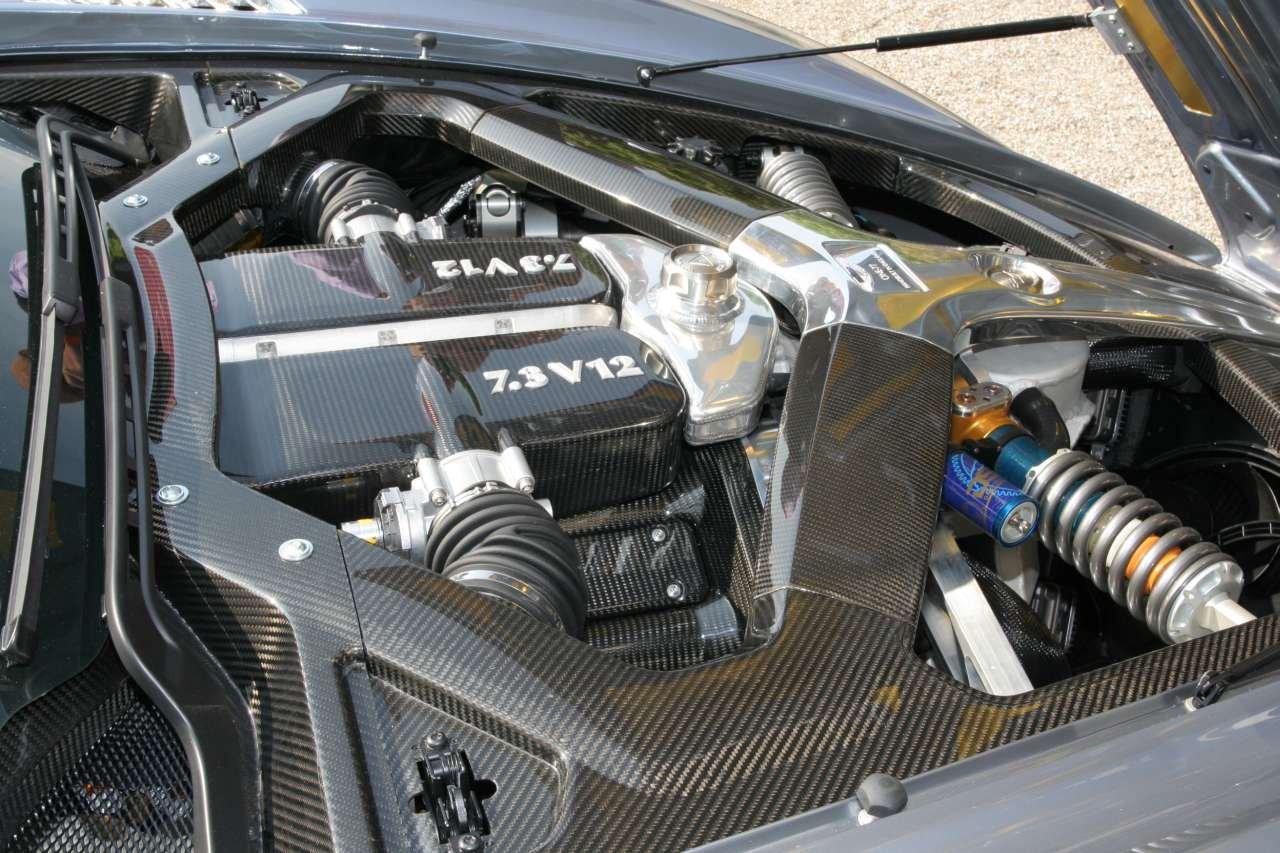 Aston Martin One 77 Engine