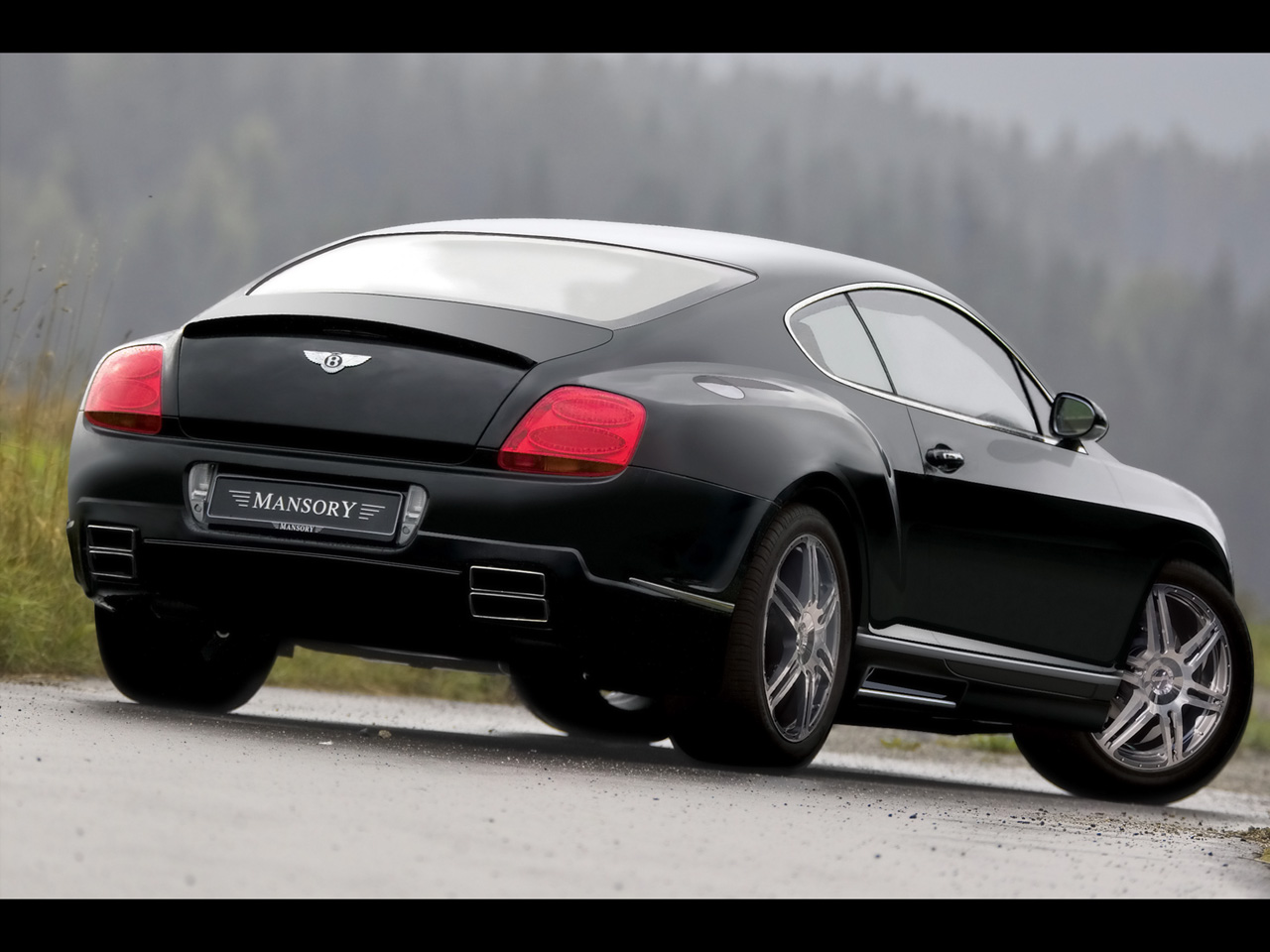 Bentley Continental Gt Rear Profile Top 50 Whips