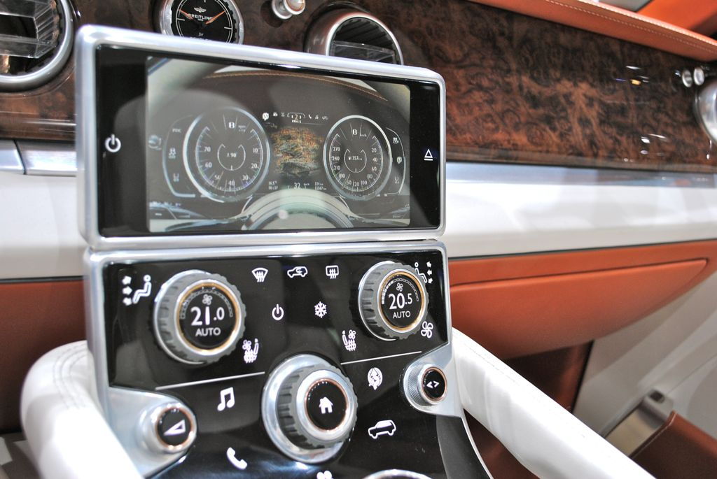 Bentley EXP 9 F SUV Climate Control - Top 50 Whips