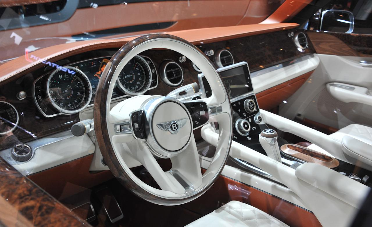 Bentley exp 9f why but hey if you have the why not trick off bentley exp 9 f suv steering wheel vanachro Image collections