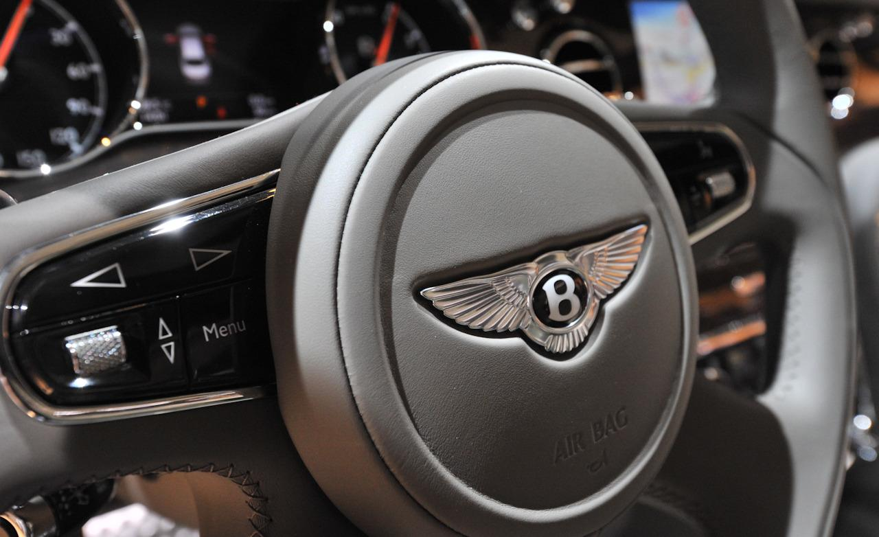 Bentley Mulsanne Steering Wheel - Top 50 Whips