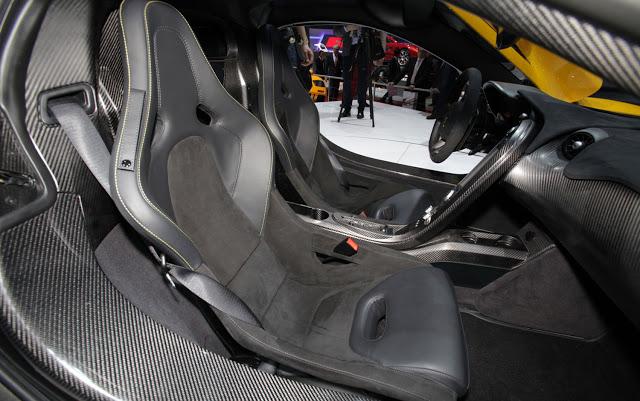 Mclaren P1 Seats