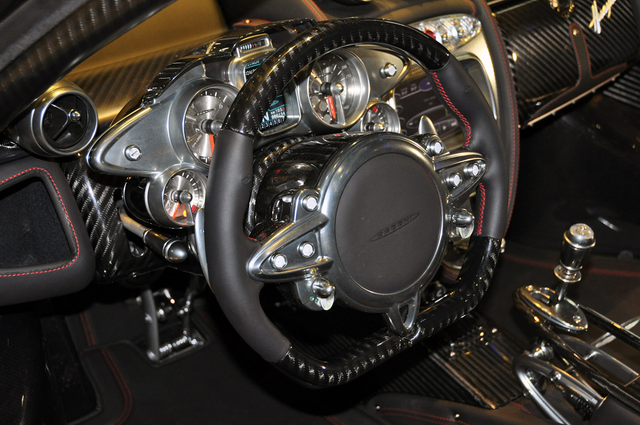Pagani Huayra Steering Wheel - Top 50 Whips