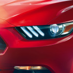 2015 Ford Mustang Headlamp