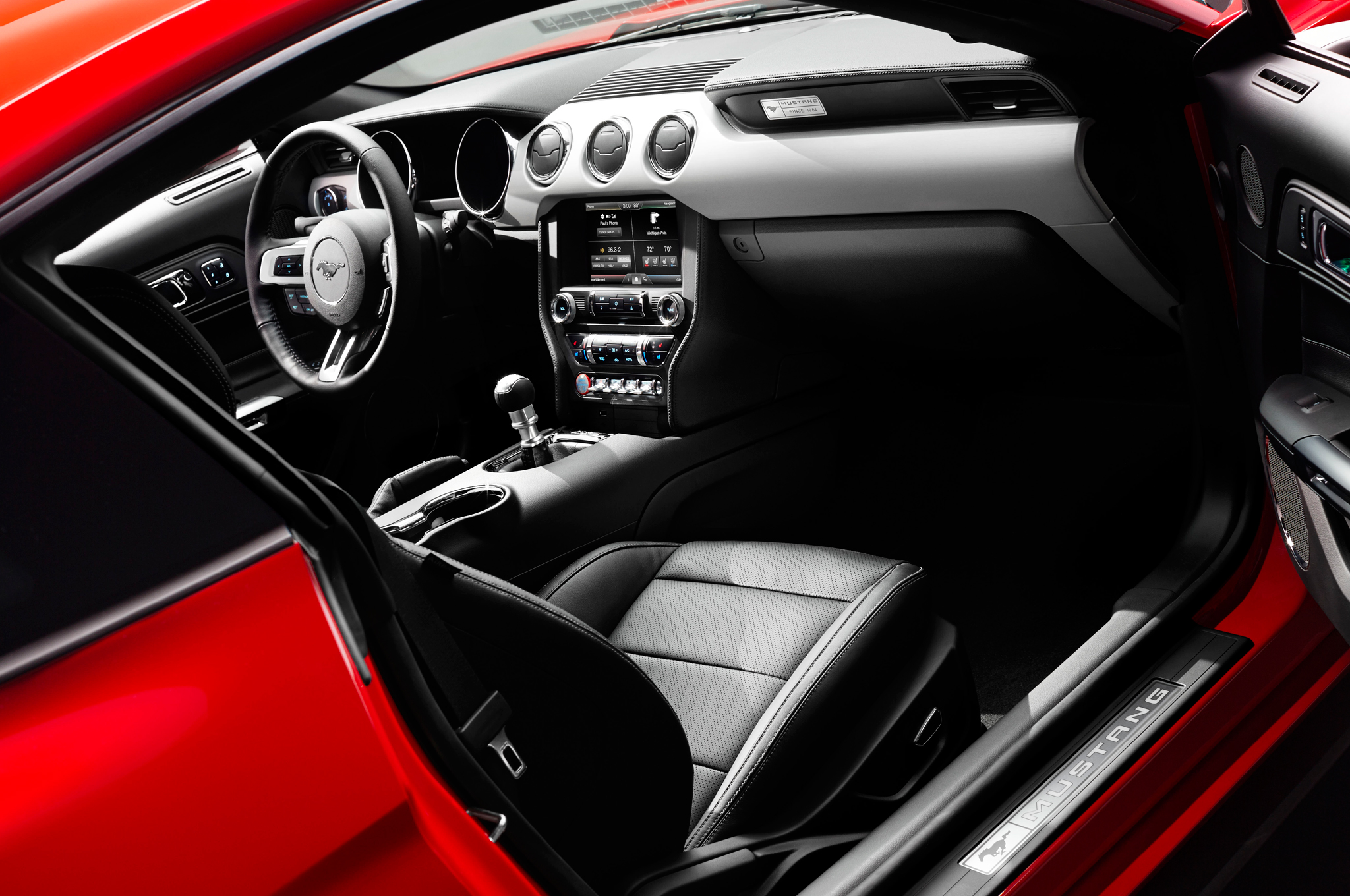 2015 Ford Mustang Interior Closeup