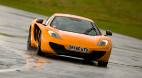 McLaren MP4-12c windshield wipers are the only affordable thing on the car and it doesn't work